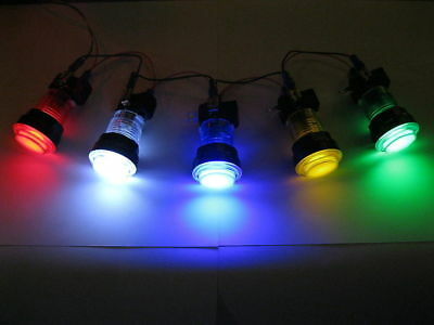 LED lit Arcade Push Button Mame Multicade Choice of 5 Colors 33mm