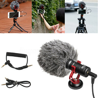 BOYA BY-MM1 Pro Universal Cardiod Shotgun Mic for Youtube/Facebook/Twitter Video