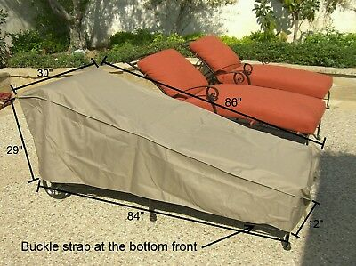 Patio Garden Outdoor Yard Pool Chaise Lounge Cover Garden Funiture Cover New