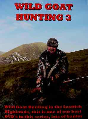 Wgh 3 Wild Goat Hunting Stalking Highlands Shooting Scotland Dvd