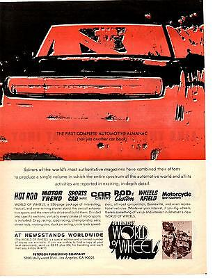 1970 Dodge Charger  ~  Great World Of Wheels Ad
