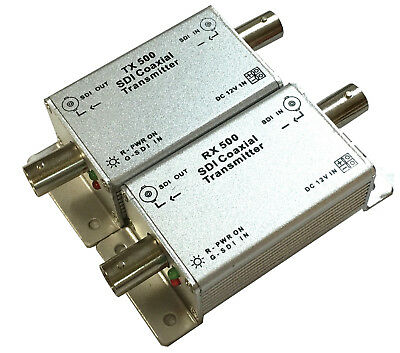 3G-SDI 500M Repeater / 2.97Gbps/500 Meters/Audio support