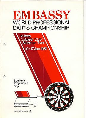 1981 Mint Condition Embassy Programme