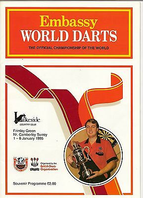 1995  Mint Condition Embassy  Programme