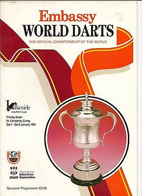 1994  Mint Condition Embassy  Programme