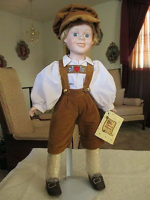 1990 Seymour Mann Hansel Doll by Brenda Thomas Once Upon a Rhyme Collection