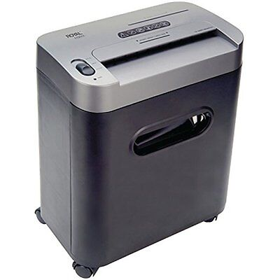 Shredders 112MX 12-Sheet Cross Cut Shredder Shreds CD's With Console (Black)