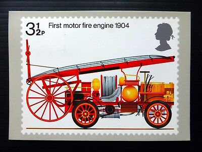 GB 1974 Fire Brigade PHQ Card Used 1st Day of Issue Very Fine NB3826
