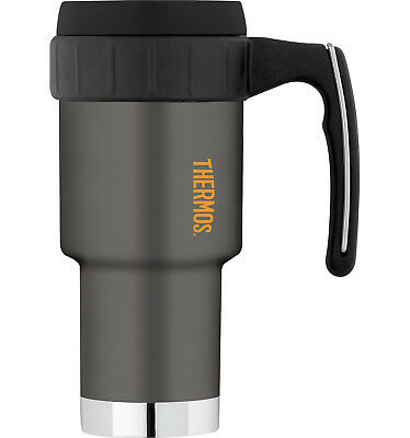 100%GENUINE! THERMOS Work Series 590ml Vacuum Insulated Travel Mug Gunmetal Grey