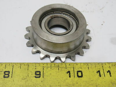 Stainless Steel Sprocket 20T #35 Chain 36mm Bore 20mm Bore Roller Bearing
