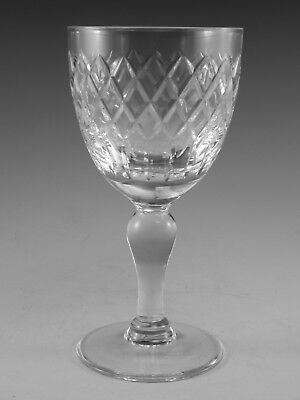 "Royal BRIERLEY Crystal - COVENTRY Cut - Wine Glass / Glasses - 5 1/4"" (2nd)"