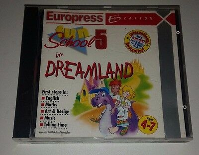 Europress Fun School 5 Dreamland Educational Pc Cd Rom For Ages 6 - 9