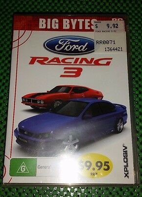 Ford Racing 3 Pc CD Rom Game