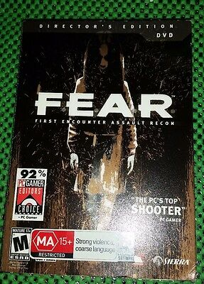 FEAR - First Encounter Assault Recon : PC CD-Rom Game With FEAR Comic Book