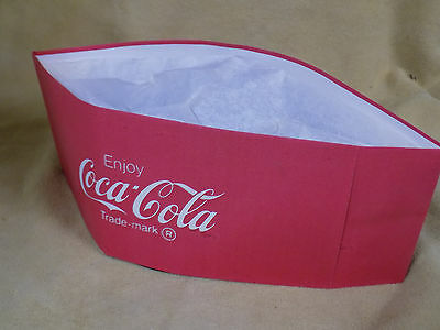 8 Coca Cola Collectible Soda Jerk Paper Hat 1950's Style NEW