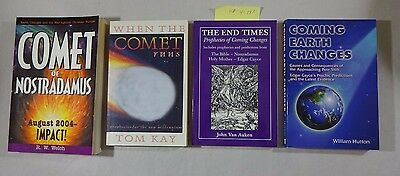 Lot: 4 Books on Prophecy Paperback