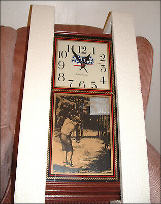 Vintage Pepsi-Cola Hanover Wall Clock Golf Design Glass Front ~ Nos In Box
