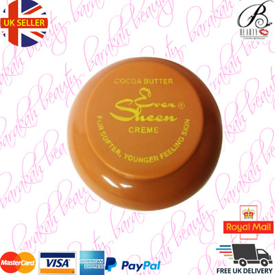 Ever Sheen Cocoa Butter Creme 250ml For Softer & Younger Skin