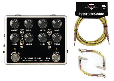 New Darkglass Microtubes B7K ULTRA V2 Analog Bass Preamp Pedal! Dark Glass