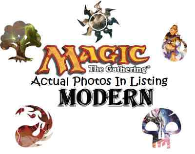 MTG Magic the Gathering Modern Legal Mix - Commons/Uncommons. Multi Listing