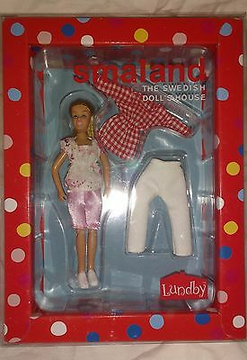 Lundby Smaland Doll's House Mother Doll With Extra Set Of Clothes - New In Box