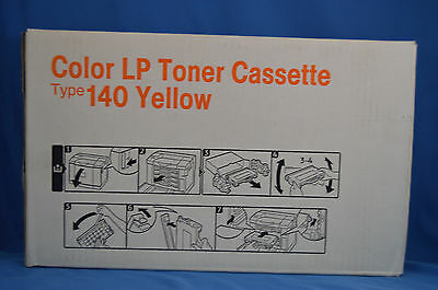 Ricoh Color LP Toner Cassette Type 140 Yellow