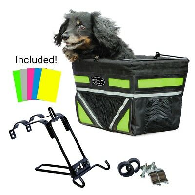 2018 Pet Pilot Bike Basket with 5 Colors | Dog Bicycle Carrier