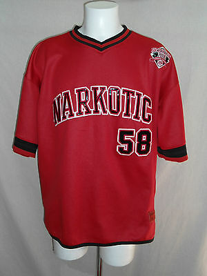 T-shirt base ball, NARKOTIC Sport collection, 58 Limited édition, T. XL