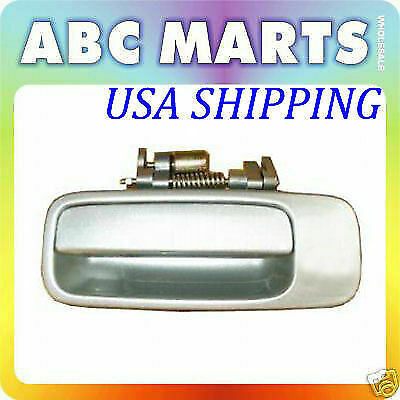 For 1997-2001 Toyota Camry Rear Left Driver Outside Door Handle SILVER 1C8 B459