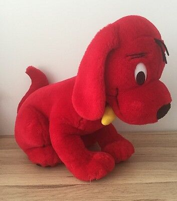 """Clifford The Big Red Dog - Large 20"""" Plush Soft Toy - Scholastic - Vgc"""