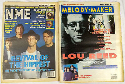 Lou REED Magazine Lot / Collection - Choose 1 from 2 - 90-93 Velvet Underground