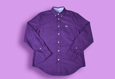 Medium Purple Longsleeve Lacoste Shirt