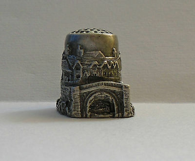 Pewter Thimble - Ironbridge Shropshire