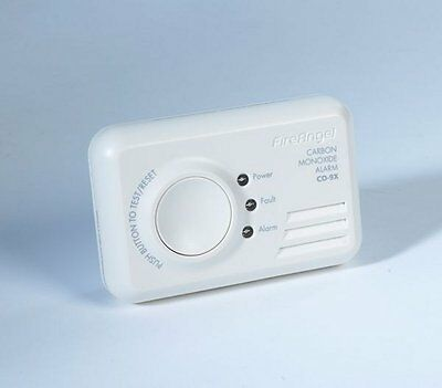 Fireangel CO-9X  Carbon Monoxide Detector 7 Year Life Brand New