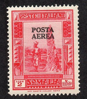 Somalia 1934 Insect Termite Nest 150a Posta Aerea Overprint Perf 14 MLH See Scan