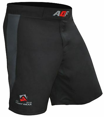 AQF Combat MMA Shorts UFC Cage Fighting Grappling Kick Boxing Gym Short 4-Way