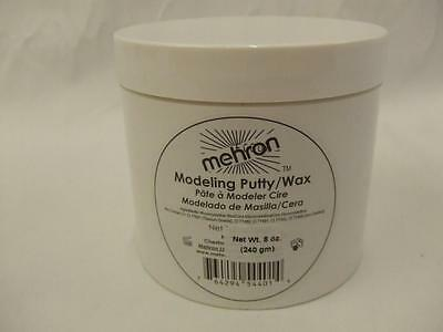 Modeling Putty Wax 8 oz Casualty Make-up   Scars  Wounds Halloween Mehron