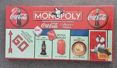 Coca Cola Monopoly Game Factory Sealed Collector's Edition 1999