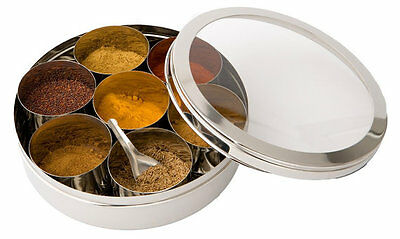 Indian Spice Tin WITH SPICES INCLUDED