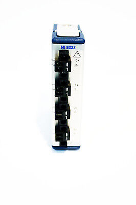 National Instruments NI 9223 ±10 V, 1 MS/s, 16-Bit, Simultaneous Input, 4-Chan.