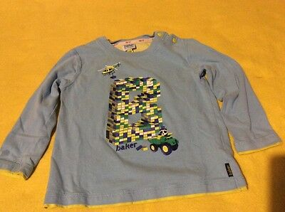 Kids baby boys ted baker top size age 18-24 months