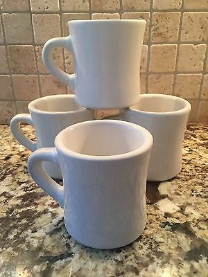 Thick White China Restaurant Diner Ware Mugs Ultima
