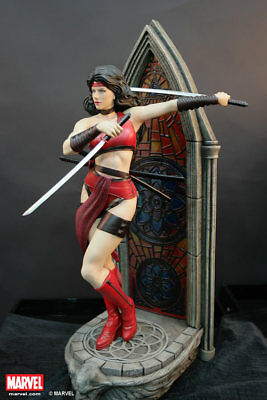 Elektra Statue XM Studios Premium Collectibles Marvel Comics - Ships from USA