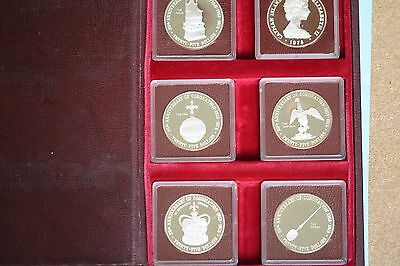 The Cayman Islands 25th Anniversary of Queen Elizabeth 1978 Proof coins