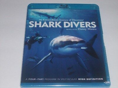 Shark Divers Blu-Ray- New & Sealed