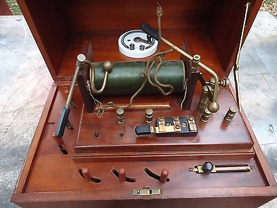 Antique Faradic Mental Health Institution Instrument,ripley Believe It Or Not