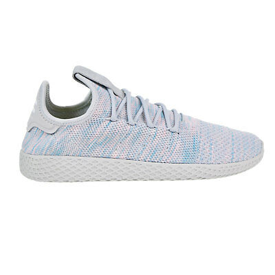 ba9bcd30f Adidas Pharrell Williams Tennis HU Men s Shoes Color Blue Pink Light Grey  by2671