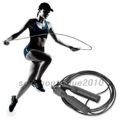 New Plastic Skipping Rope Jump Speed Exercise Rope Boxing Gym Fitness Workout