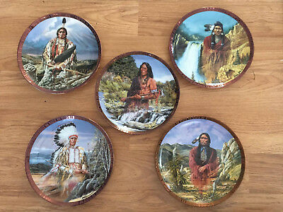 Franklin Mint 'x5 PLATES' Limited Edition Collector Plates