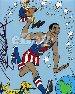 Rare! HARLEM GLOBETROTTERS ANIMATION CEL Hand Painted HANNA BARBERA Signed!